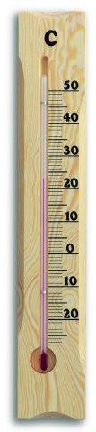 121033 Термометр комнатный TFA, сосна, 380х65 мм - ParfumkaShop Интернет магазин  в Киеве