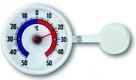 146006 Термометр оконный TFA, на липучке, пластик, d=73 мм