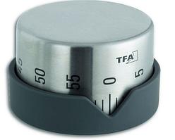 Таймер TFA Dot, металл, d=70мм, 43мм антрацит