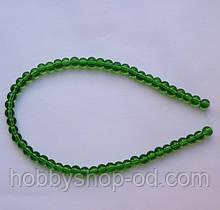 Бусина Шар цвет зеленый 6 мм
