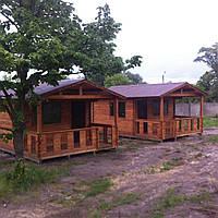 Строительство домов деревянных сборных из профилированного бруса, фото 1