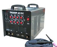 Аппарат для сварки алюминия WMASTER TIG-200P AC/DC