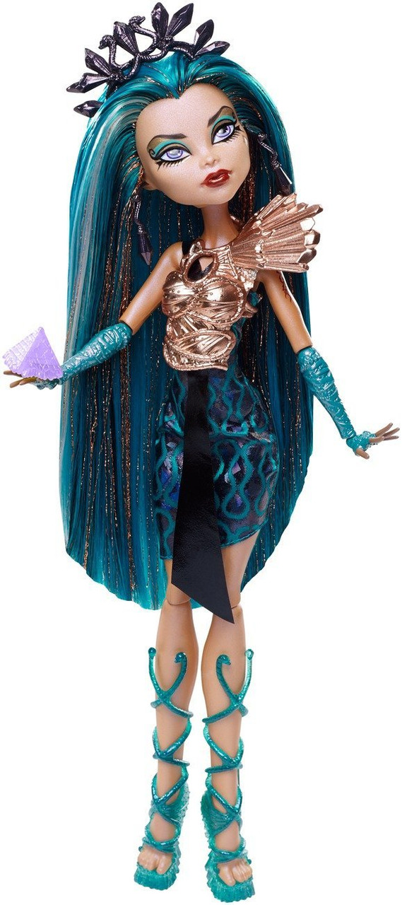 Кукла Монстер хай оригинальная Нефера де Нил серии Бу-йорк Monster High Boo York