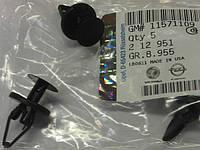 Пистон (заклёпка расширяющаяся, крепление, дюбель-гвоздь, тюльпан) подкрылка, бампера, боковой защиты двигателя GM 0212951 2084005 11571109 13350726