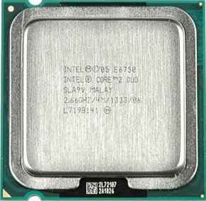Процессор Intel Core 2 Duo Processor E6750 (4M Cache, 2.66 GHz, 1333 MHz FSB)