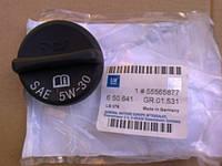 Крышка (пробка, заглушка) маслозаливной горловины в сборе с прокладкой (уплотнительным кольцом) черная Opel Antara Astra-H/G/J Zafira-A/B Meriva-A/B