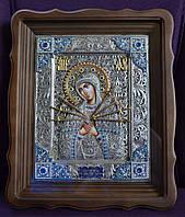 Икона Божьей Матери Семистрельная с филигранью (сканью) №194