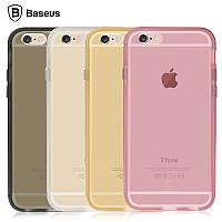 Чехол iPhone 6/6S Baseus Golden Series bumper /black/