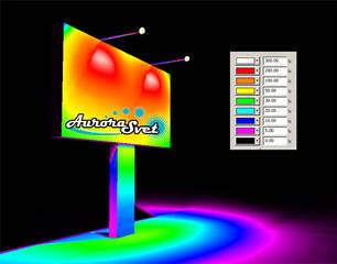 Рекламное светодиодное освещение