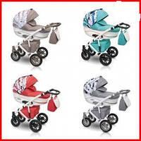 Детская коляска Camarelo Picasso 04 QUIPOLO красный/белый