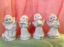 Статуэтка ангелы музыканты 4 вида 10 см