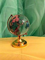 Глобус стекло высота 9 см