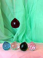 Кристалл (12 шт) подвесной 5 см 6 видов