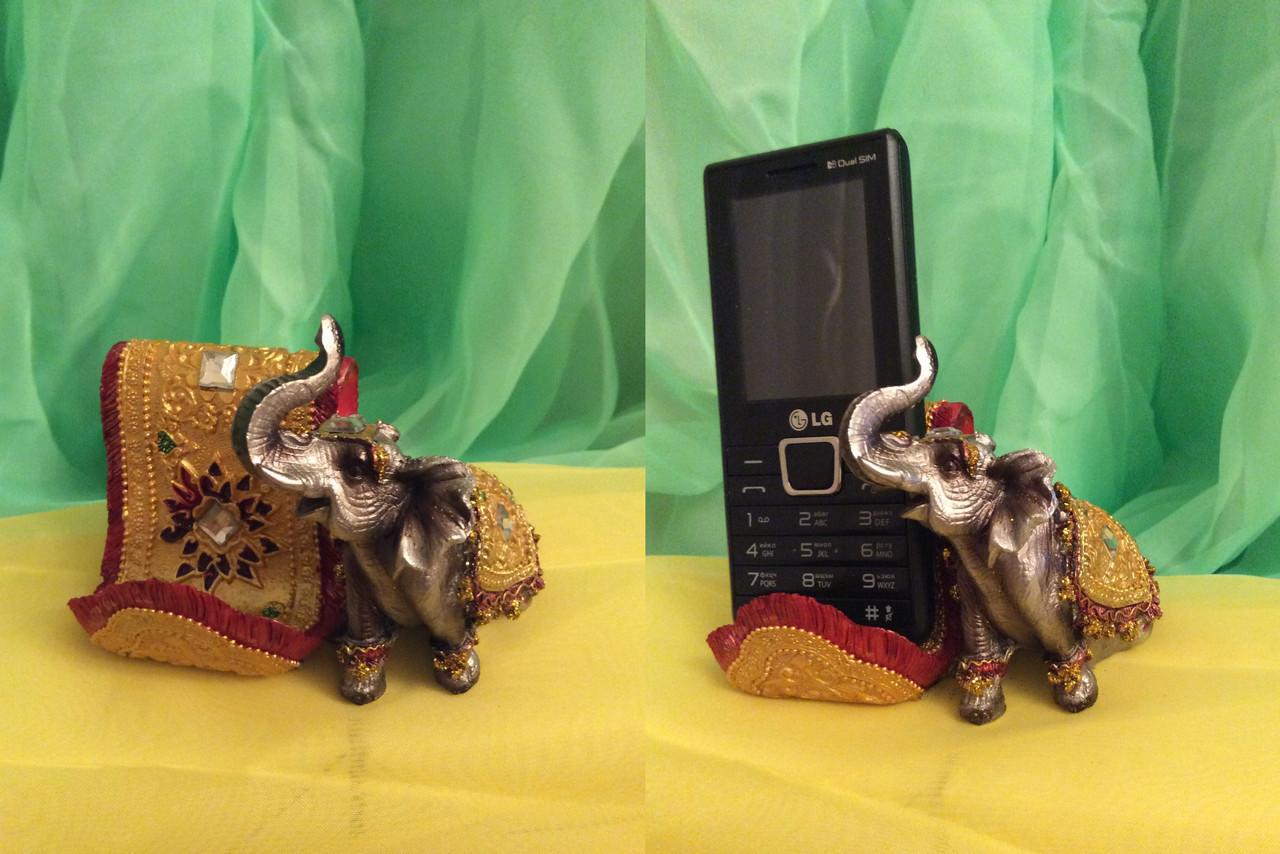 Подставка Слон 8х10 см - Интернет магазин Ника Маркет в Одессе
