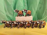 Статуэтка 8 слонов