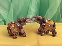 Статуэтка 8 слонов 4х4 см