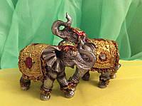 Статуэтка слон пара высота 7 см