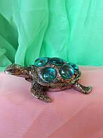 Статуэтка черепаха ширина 11 см