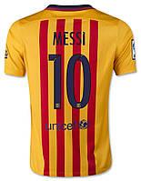 Футбольная форма Барселоны (гостевая), №10 Месси, фото 1