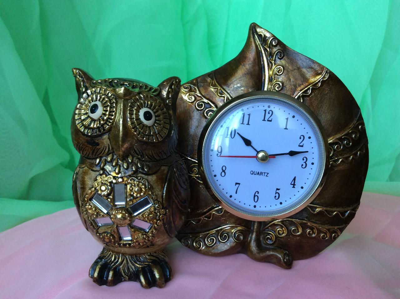 Часы сова 13 см - Интернет магазин Ника Маркет в Одессе