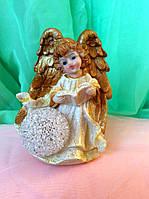 Статуэтка Ангел светящийся шар 12 см
