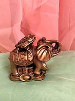 Слон-жаба (бронза) 8 см
