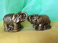 Слон пара 2 шт в коробке 4х5 см