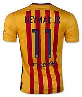 Футбольная форма Барселоны (гостевая), №11 Неймар, фото 1