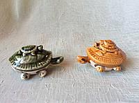 Черепашка керамическая 2 вида