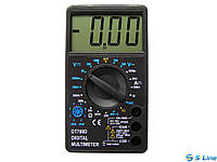 Цифровой мультиметр тестер DT 700D, измерительный прибор мультиметр, портативный мультиметр, тестер мультиметр