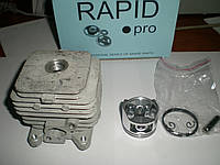 """Цилиндро-поршневая группа ЦПГ для бензокосы d-36.5 мм """"Rapid"""""""
