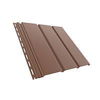 Панель софита Bryza коричневая