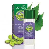 Biotique Bio Soya Protein FRESH BALANCING CLEANSER For Color Treated & Permed Hair Био Соевые Белки Восстанавливающий балансировочный шампунь мягкого