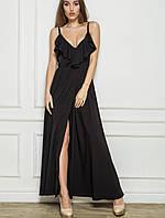 Летнее платье в пол | 2186 sk черный
