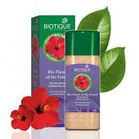 Biotique Bio Flame Of The Forest FRESH Shine EXPERTISE OIL Био Лесной Огонь Природное масло для волос. для окрашенных и поврежденных химической