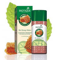 Biotique Bio Honey Water LightENING FRESHENER WITH HIMLAYAN WATERS Био Медовая Вода, легкий освежающий Тоник на родниковой воде из предгорий Гималаев,