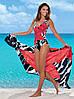 Женские купальники, парео и пляжные туники