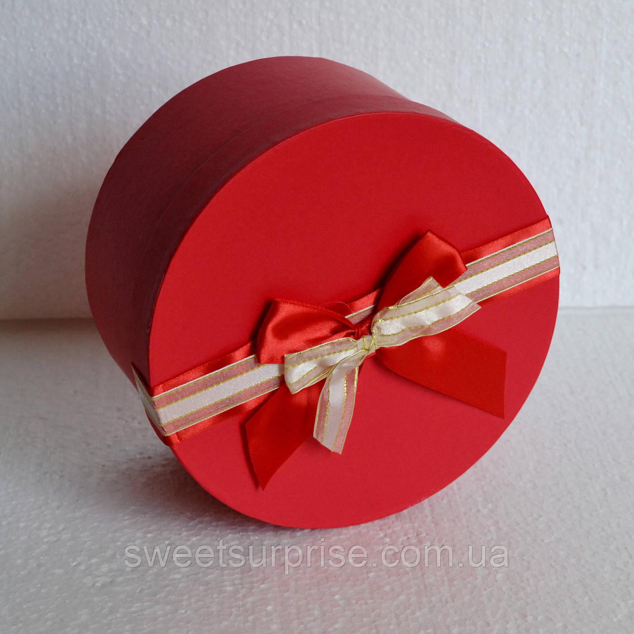 Круглая подарочная коробка (мини)
