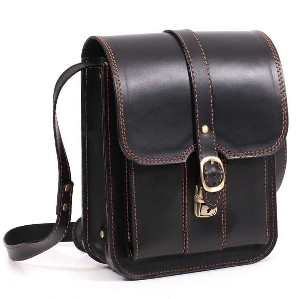 Кожаная сумка-планшет СПБ-3