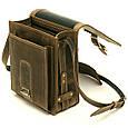 Шкіряна сумка-планшет СПБ-3, фото 6