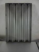 Лист для выпечки (багет) 600*400  4 волны, фото 1