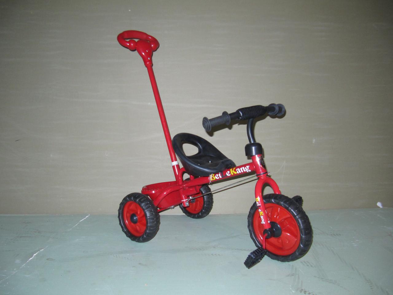 Дитячий велосипед з штовхачем Т11