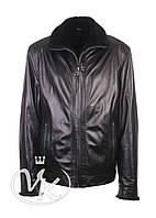 Черная кожаная куртка мужская зимняя