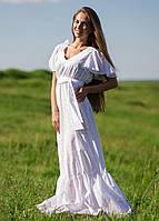 AMPL107-37-42 платье цвет белый