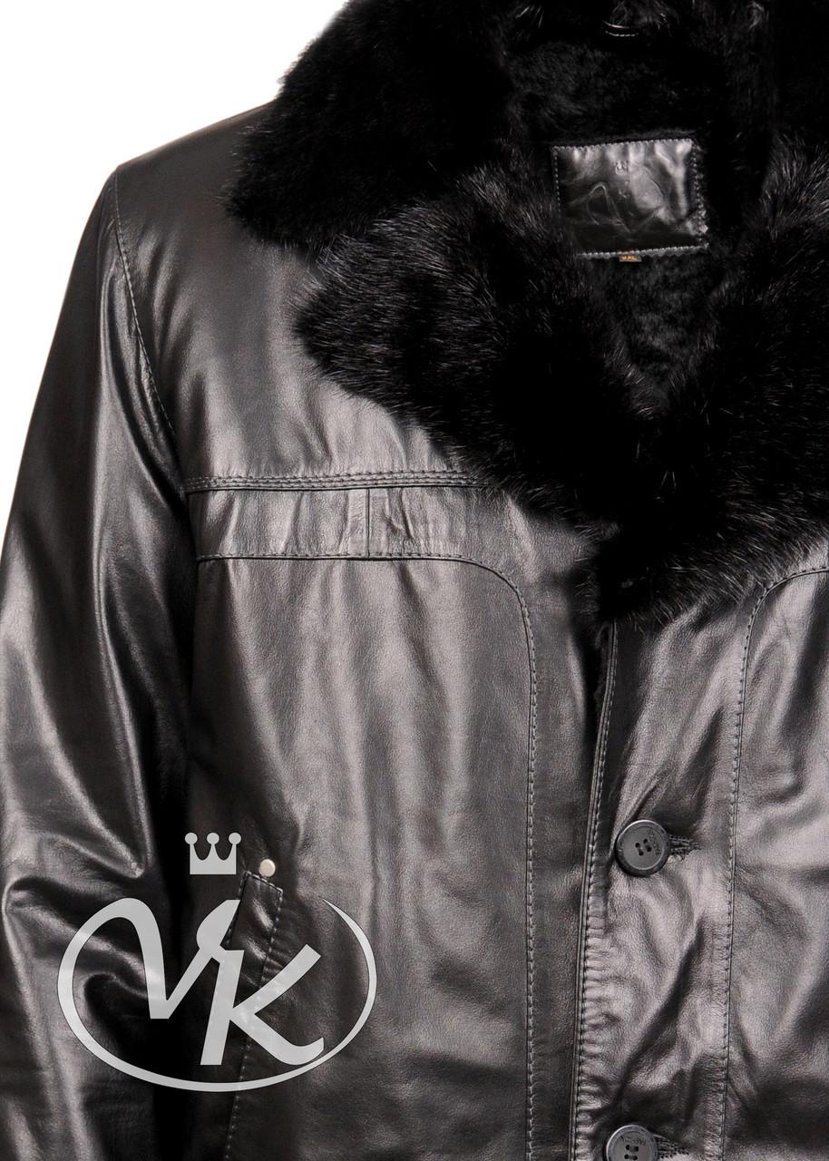 Кожаные Куртки Зимние Мужские