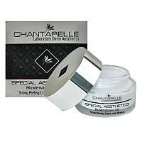 Chantarelle Microdermabrasion 20% Strong Peeling Cream Anti-Wrinkle – противоморщинный крем c сапфировым порошком для зрелой, сухой, дряблой кожи 50