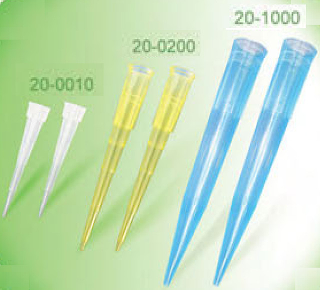 Жовтий наконечник для піпеточного дозатора  0-200мкл, жовті, 1000 шт.