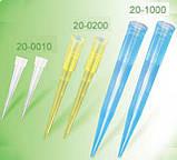 Наконечники для піпеток, 1 мл, сині, 500 шт., фото 2