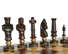 Элитные большие шахматы Дубовые Роял Люкс С-104 D с красивыми фигурами, фото 3