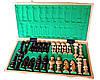 Элитные большие шахматы Дубовые Роял Люкс С-104 D с красивыми фигурами, фото 4